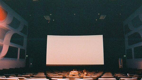 Пустой зал кинотеатра