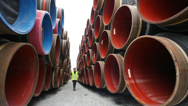 Cтроительство газопровода. Архивное фото