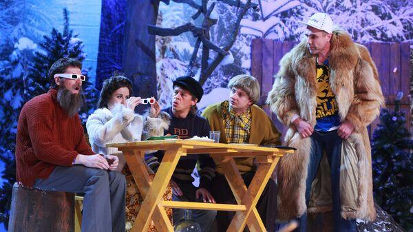 Новогоднее шоу Уральские пельмени- Борода измята