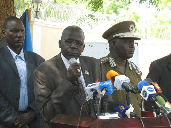 Министр внутренних дел Южного Судана Гиер Альонг