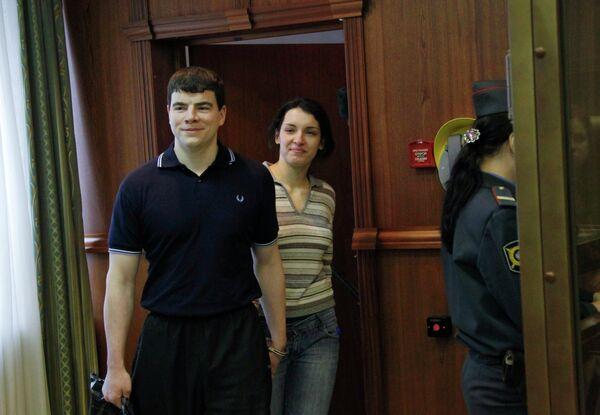 Слушания по делу в отношении Никиты Тихонова и Евгении Хасис