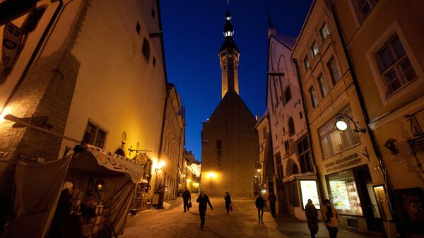 Исторический центр Таллина - Старый город. Архив