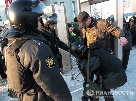 Акция, посвященная 40 дням со дня гибели болельщика ФК Спартак Егора Свиридова, прошла в Санкт-Петербурге