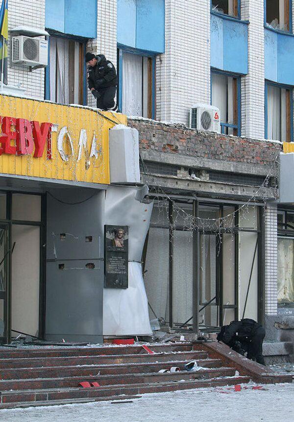 Взрыв в городе Макеевка