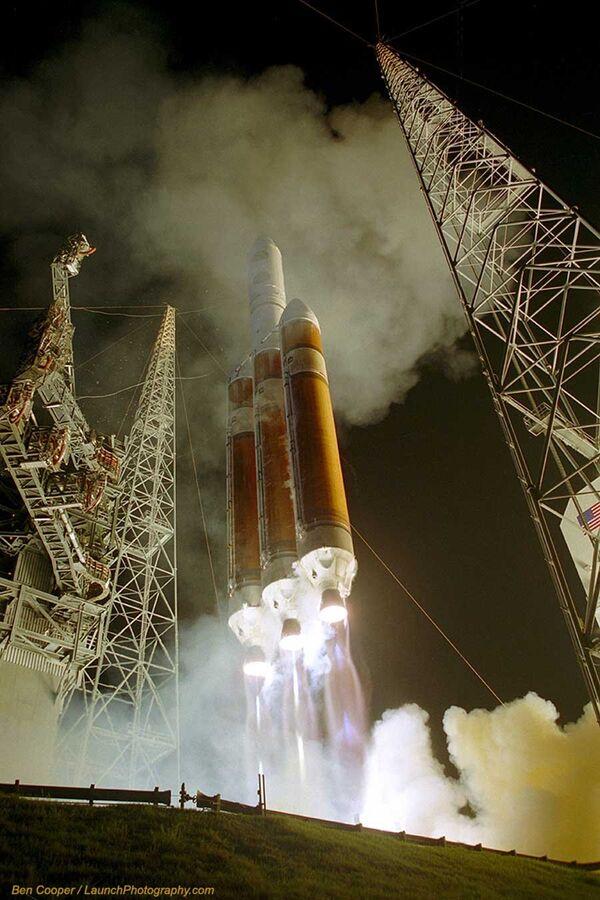 Ракета-носитель Delta 4 вывела на орбиту