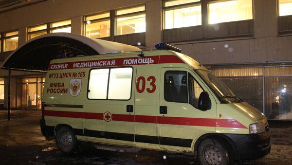 Работники скорой помощи. Архив