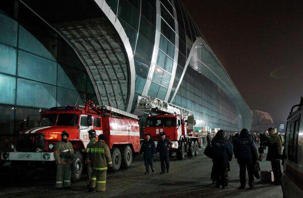 Взрыв в аэропорту Домодедово
