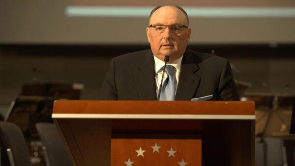 Вячеслав Кантор на открытии Дней памяти жертв Холокоста в Европарламенте