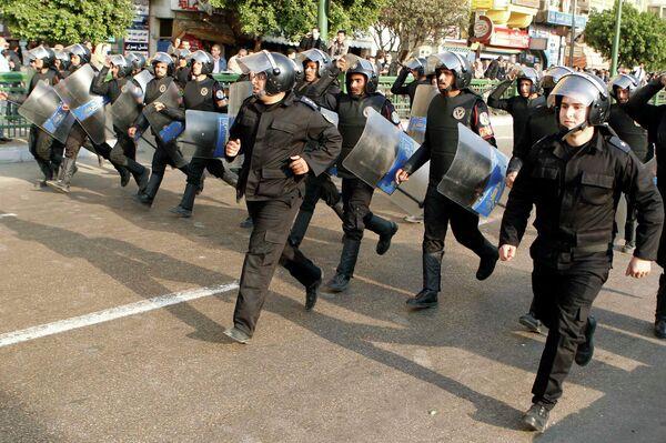 Демонстрация День гнева на улицах Каира