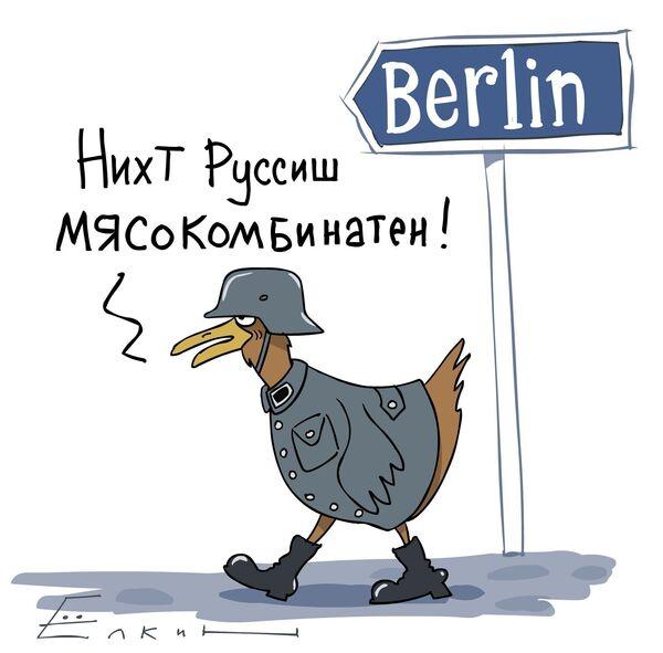 Временное ограничение на ввоз мяса птицы из Германии