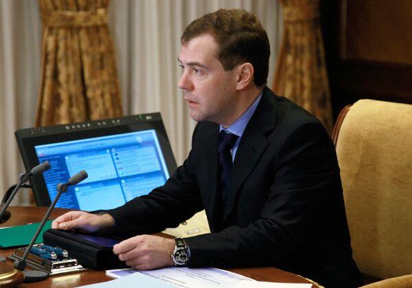 Дмитрий Медведев провел совещание по безопасности на транспорте