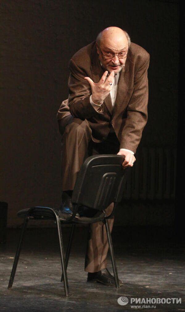 Михаил Козаков в спектакле Ниоткуда с любовью в московском театре Школа современной пьесы