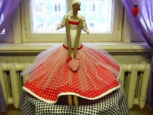 Вологда демонстрирует валентинки на куклах
