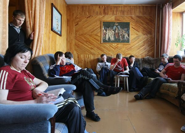Работа некоммерческого фонда Новосибирск против наркотиков