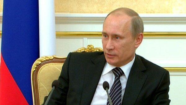 Путин спросил министров, кто из них пьет за рулем