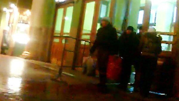 Киевский вокзал после визита Медведева. Любительская съемка