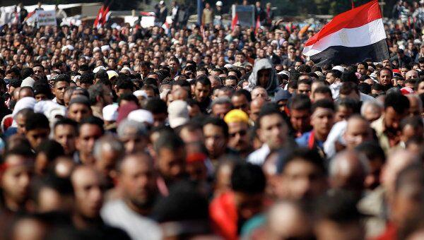 Ситуация в Каире на площади Тахрир