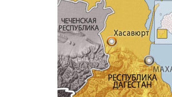 Спецоперация в дагестанском Хасавюрте