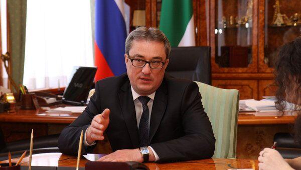 Глава Республики Коми Вячеслав Гайзер. Архивное фото