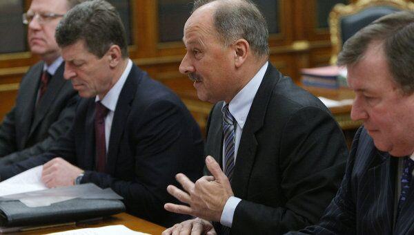 Премьер-министр РФ Владимир Путин провел заседание наблюдательного совета госкорпорации Банк развития и внешнеэкономической деятельности