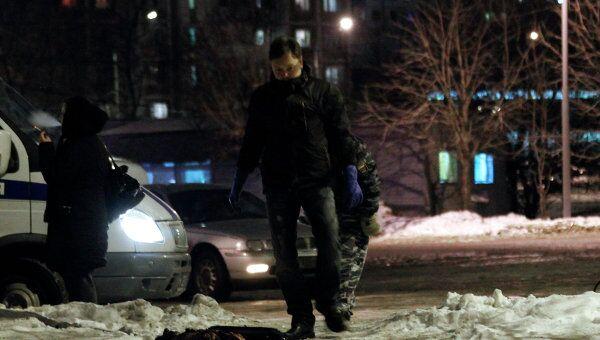 Мужчина подорвал себя гранатой в автомобиле на северо-востоке Москвы