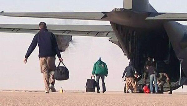 Эвакуация граждан Великобритании из Ливии