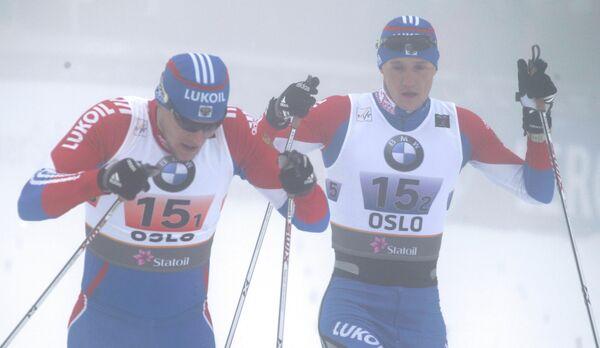 Александр Панжинский и Никита Крюков (слева направо)