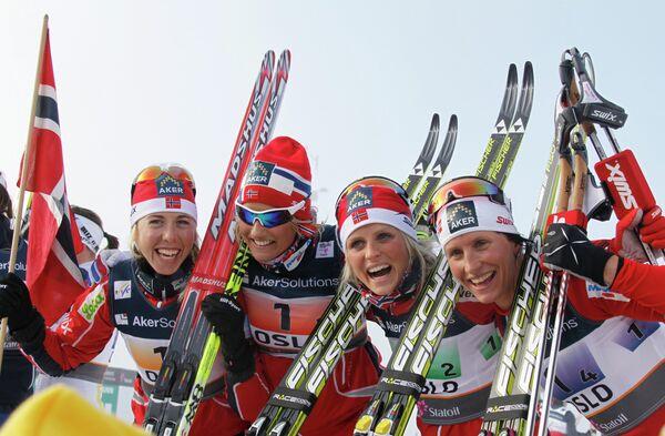 Лыжницы сборной Норвегии