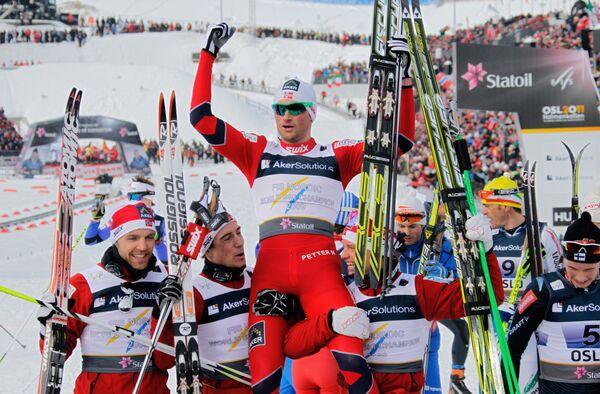 Лыжники сборной Норвегии