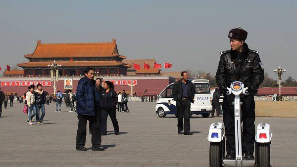 Пекин, площадь Тяньаньмэнь