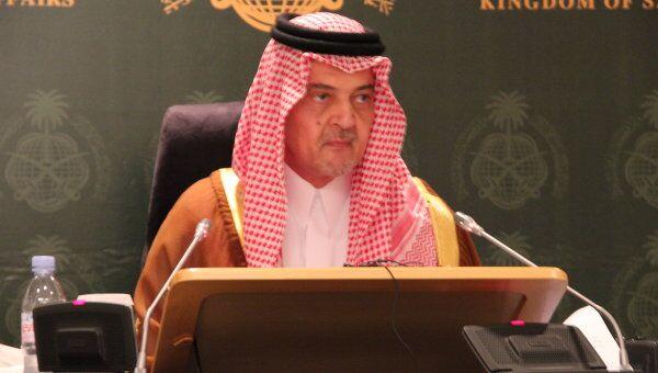 Принц Сауд Аль-Фейсал, архивное фото