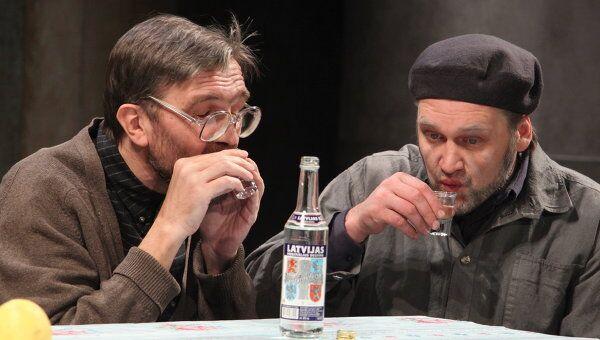 Сцена из спектакля Ханана Лиепайского театра