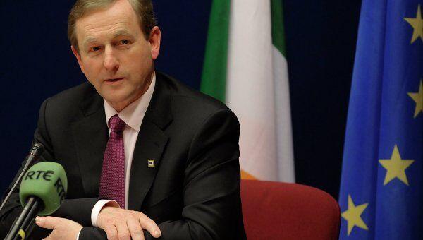 Премьер-министр Ирландии Энда Кенни на саммите ЕС