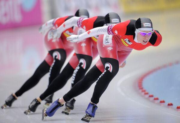 Канадские конькобежки