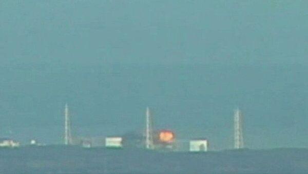 Пожар на японской АЭС Фукусима-1 в Японии