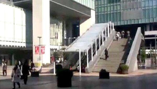 Токио опустел после серии  землетрясений в Японии