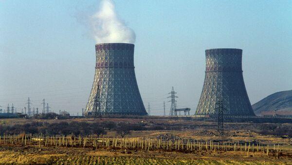 Армянская АЭС. Архивное фото.