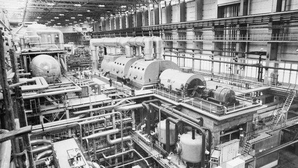 На атомной электростанции. Архив