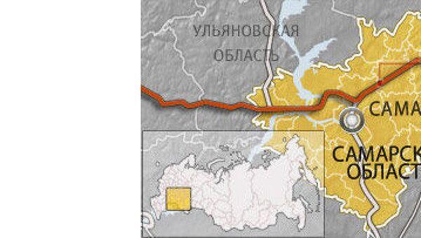 Трасса М-5 в Самарской области