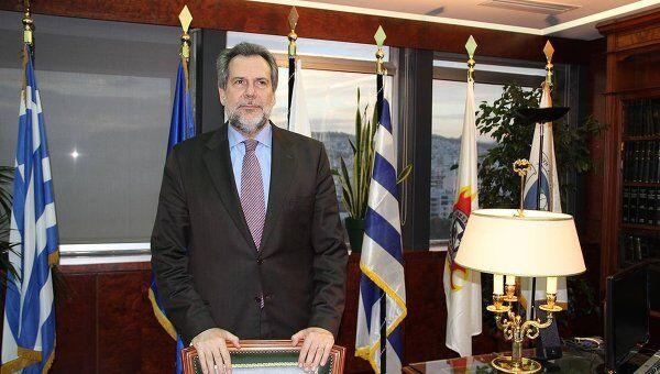 Греческий министр защиты гражданина Христос Папуцис