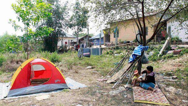 Последствия землетрясения в провинции Чианг Рай, к северу от Бангкока 25 марта 2011