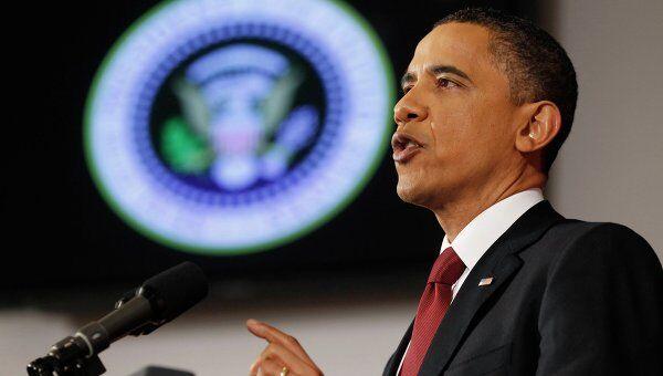 Барак Обама выступил с обращением к нации в связи с ситуацией в Ливии