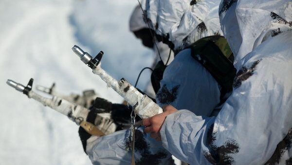 Мотострелковая бригада. Архивное фото