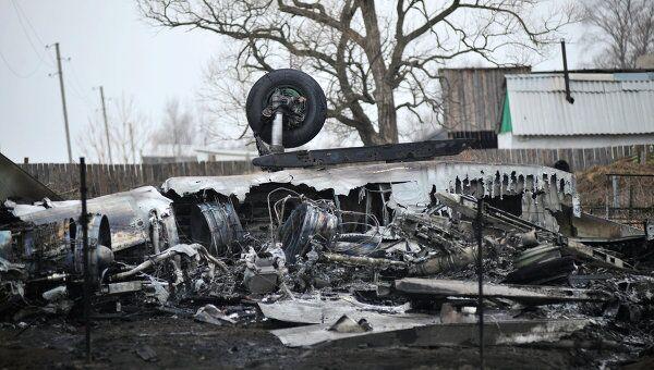Крушение самолета Су-27СМ в Приморье