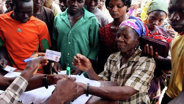 Выборы в Нигерии