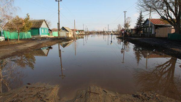 Паводковая ситуация в Саратовской области. Архив