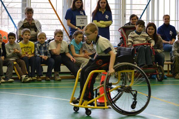 Фестиваль Спорт равных возможностей. Школьный день