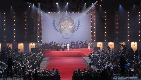 Церемония вручения театральной премии Золотая маска