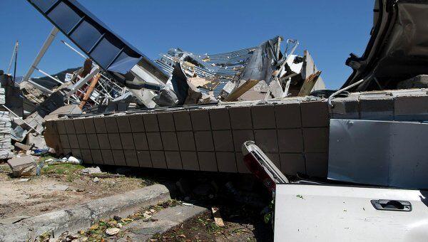 Последствия циклона с торнадо в США