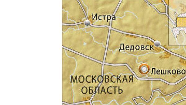 Деревня Лешково в Московской области, где снимают Дом-2